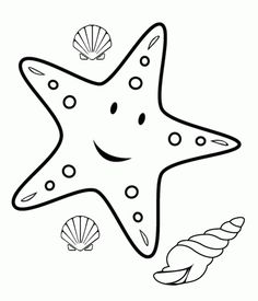 Drawn starfish cartoon Cartoon Pinterest Pages boat how