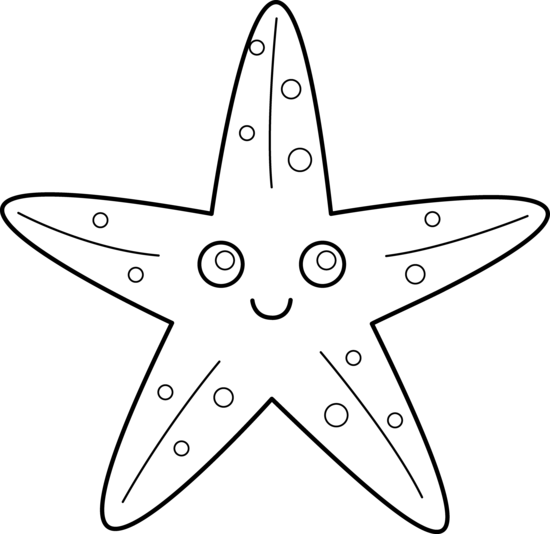 Simple clipart starfish Pin on Find Starfish more