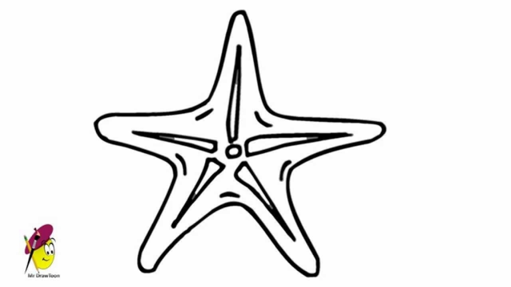 Drawn starfish easy To Drawing Draw Easy To