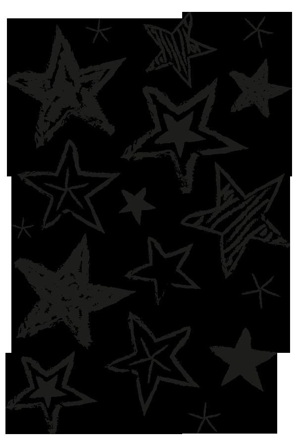 Drawn stars Bakery Paper Drawn Drawn Stars