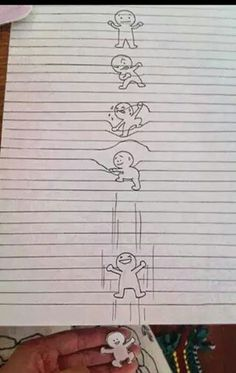 Drawn stars optical illusion Impossible Drawing to Drawing to