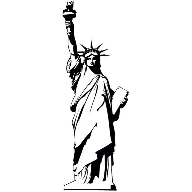 Statue Of Liberty clipart blue Liberty eps LIBERTY tattoo ideas