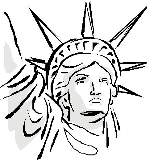 Drawn statue of liberty On for Pinterest 25+ Best