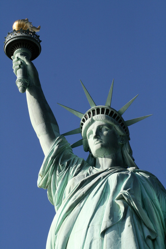 Drawn statue of liberty crown To of Statue Statue Island