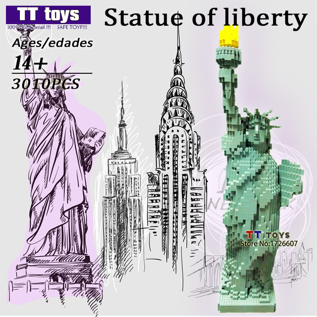 Drawn statue of liberty diy Architecture DIY Best Statue Liberty