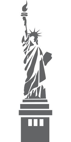 Drawn statue of liberty diy Liberty of  · of