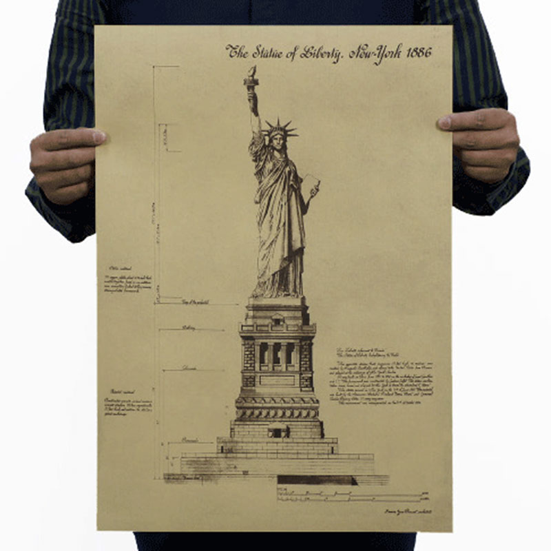 Drawn statue of liberty diy Paper Home Compare Statue Liberty