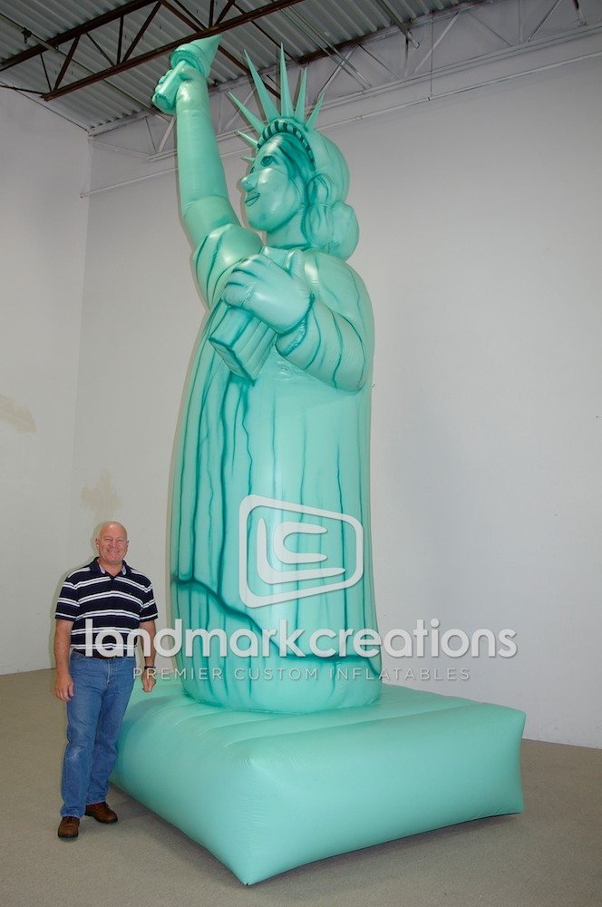 Drawn statue of liberty inflatable 2 Statue of Liberty jpg