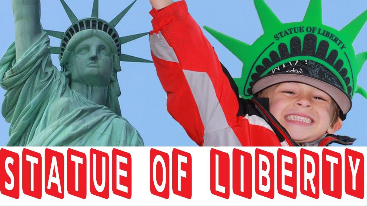 Drawn statue of liberty libert KIDS YouTube 4  STATUE