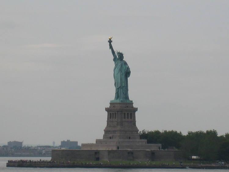 Drawn statue of liberty libert Liberty UNESCO of Heritage Centre