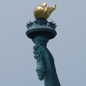 Drawn statue of liberty libert Island Facts The Liberty of