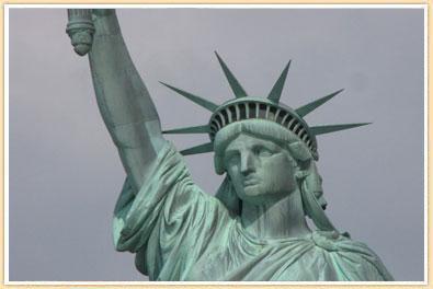 Drawn statue of liberty liberty kid Go up I was hadn't