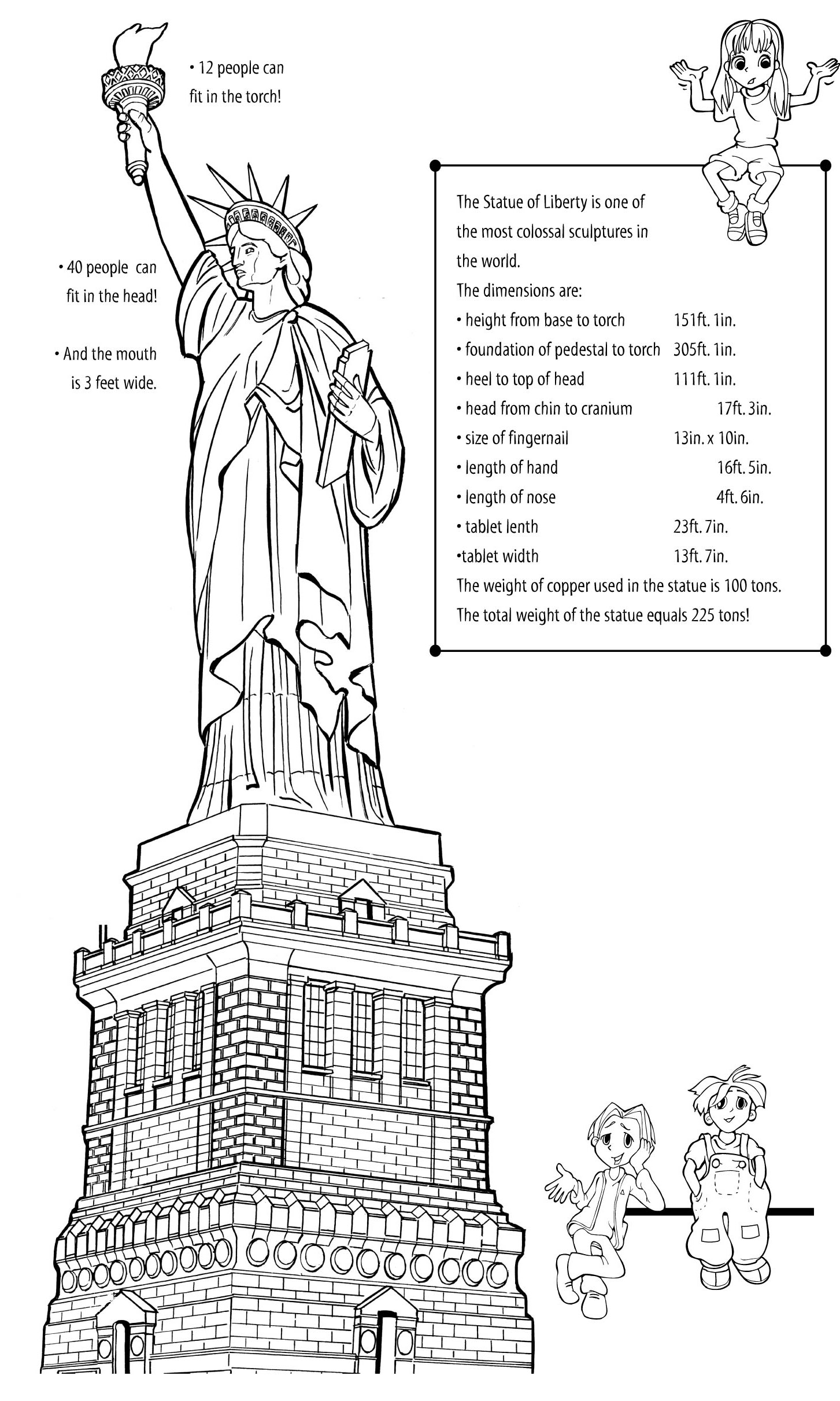 Drawn statue of liberty Pattern EarthCam Use Statue the