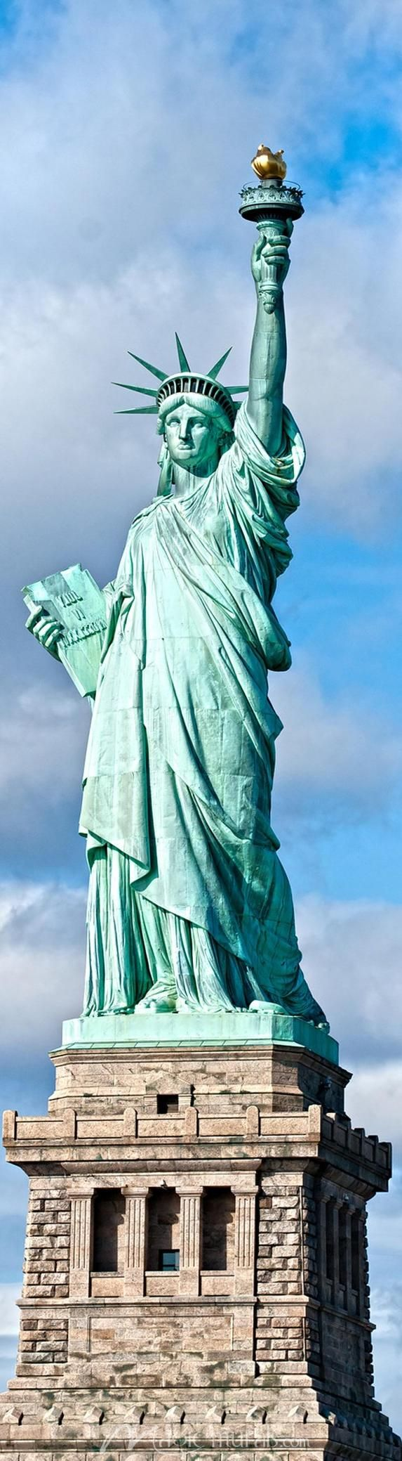Drawn statue of liberty sculpture Pinterest Liberty of a the