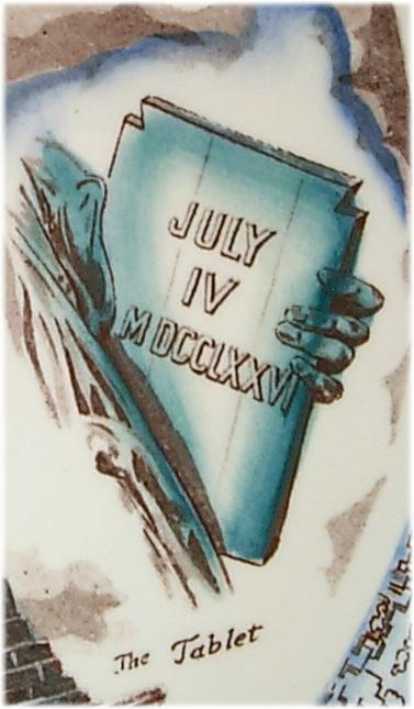 Drawn statue of liberty tablet Signature: of Multi Davidson Island