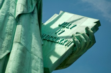 Drawn statue of liberty tablet Table Art: statue: March American
