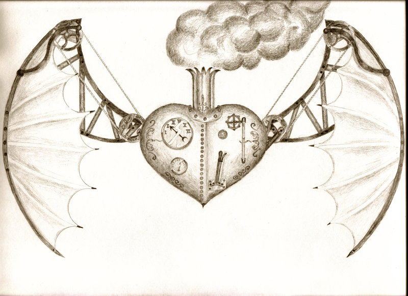 Drawn steampunk Steampunk com flying @DeviantArt steampunk