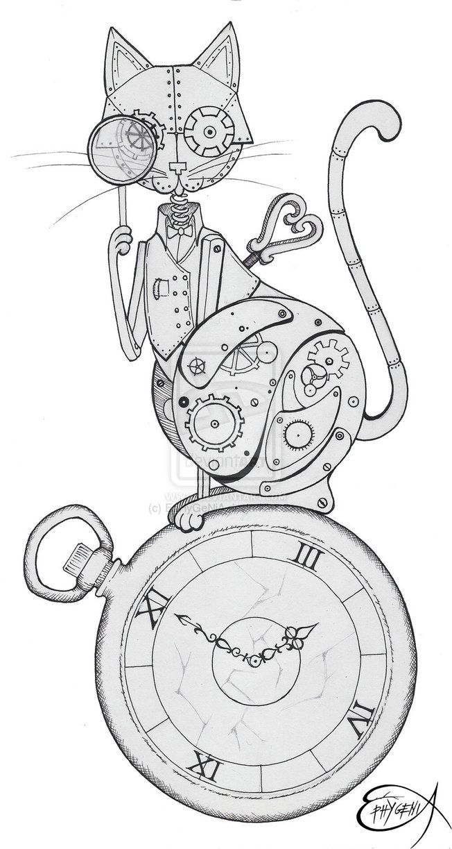 Drawn steampunk On Best drawing Pinterest