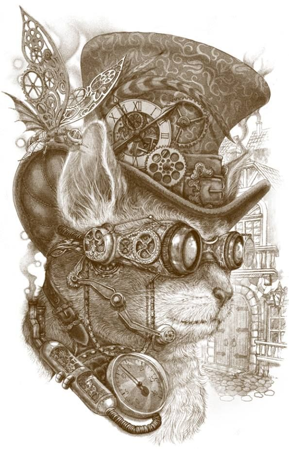 Drawn steampunk 25+ Steampunk Steampunk Best Pinterest