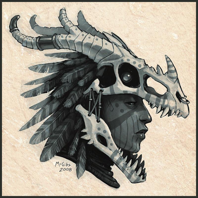 Drawn steampunk headdress DeviantArt Headdress by Headdress Dragon