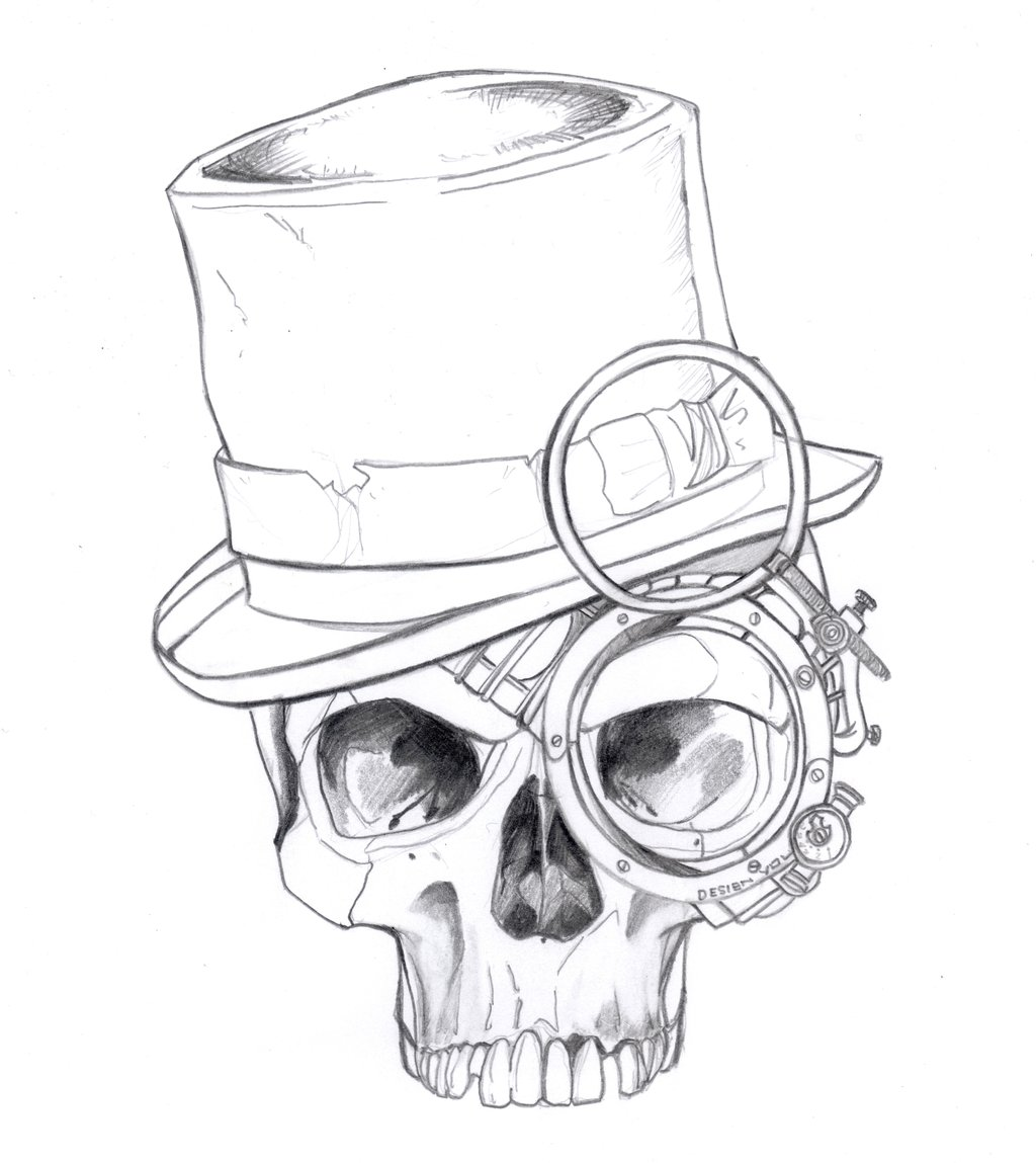 Drawn steampunk headdress Para drawings Pesquisa drawings steampunk