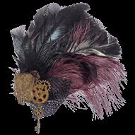 Drawn steampunk headdress Bags Feather Steampunk Accessories Steampunk