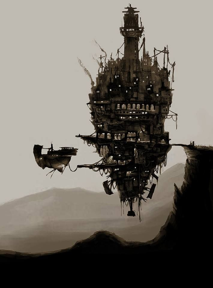 Drawn steampunk house Steampunk best on #Steampunk City