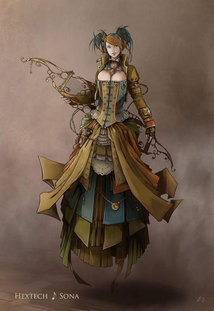 Drawn steampunk legend And Pinterest steampunk images Find