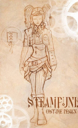 Drawn steampunk pirate Artwork on Pinterest best this
