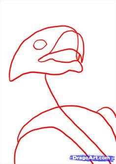 Drawn steller's sea eagle dragoart Pin bald eagles draw on