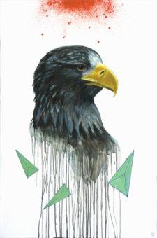 Drawn steller's sea eagle easy draw Great Painting Lineberger Eagle Eskridge