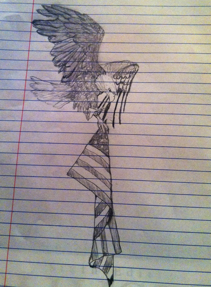 Drawn steller's sea eagle flag america 25+ Pride American Pinterest tattoos