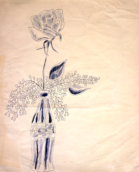 Drawn still life andy warhol Early Andy Fand  Warhol