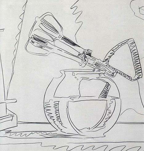 Drawn still life andy warhol Warhol Still Art Class Lives: