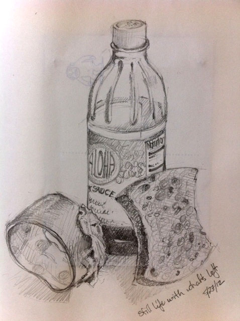 Drawn still life andy warhol Montana in law she Five