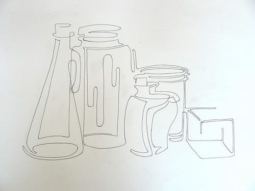 Drawn still life bad  line Continuous 25+ Best
