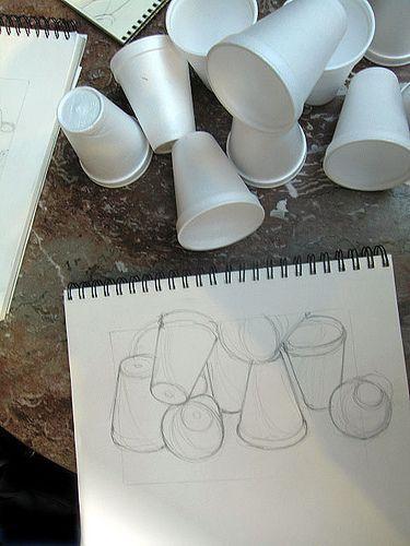 Drawn still life bad Images on Pinterest Drawing Preparation