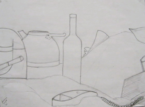 Drawn still life basic Today a Broadside: the Class