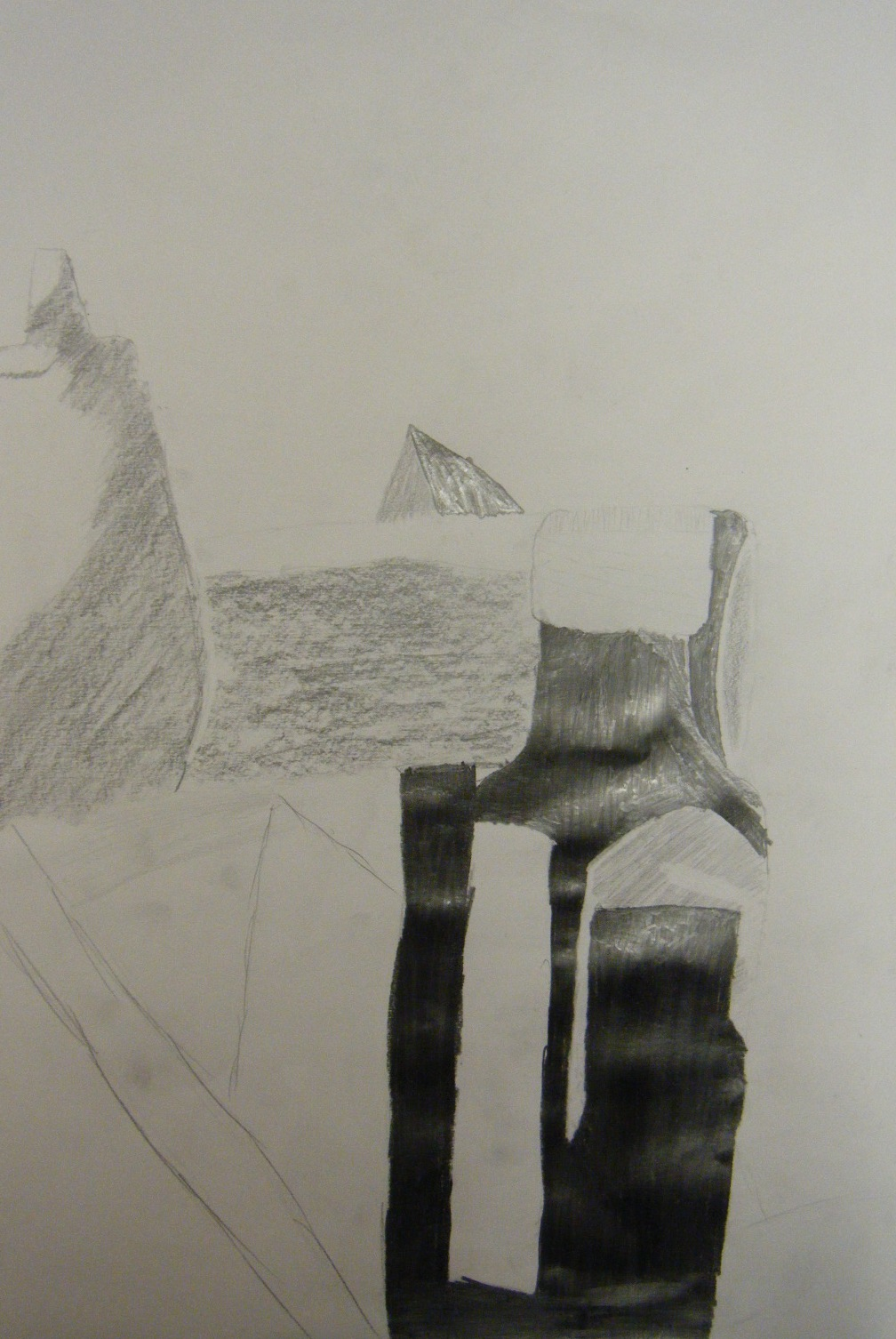 Drawn still life basic With contour Still to began