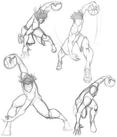 Drawn still life basketball And  Tutorial Step How
