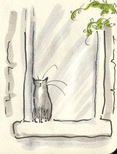 Drawn still life cat Drawings Cat CATS Drawings this