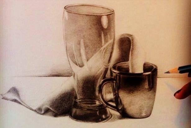 Drawn still life classic By by Drawing Life Still