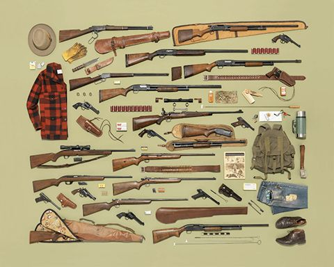 Drawn still life gun Themed Jim Golden styled clearly