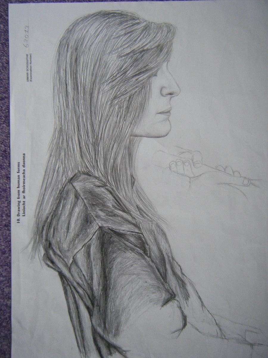 Drawn still life human DeviantArt by xoX dreamer xoX