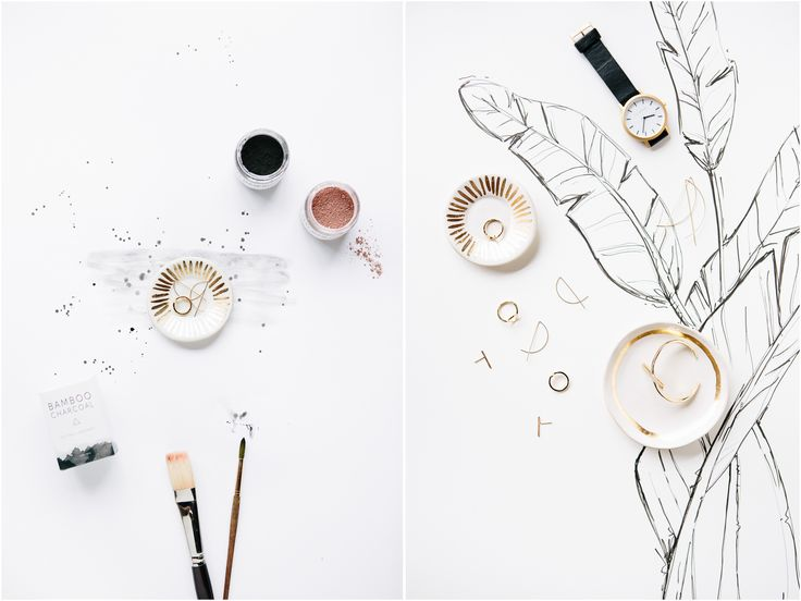Drawn still life jewelry On & illustration JEWELRY Lookbook