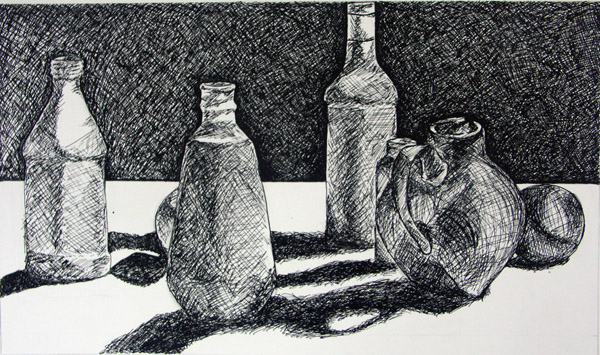 Drawn still life jordan Drawing derived with perceptually Kathy