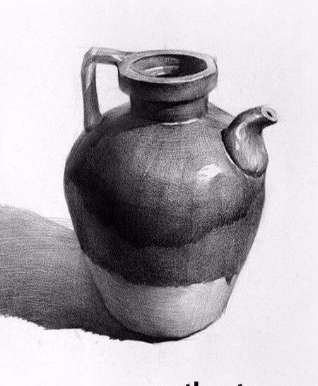 Drawn still life kettle Pin best 120 life more
