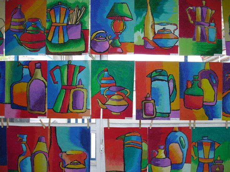 Drawn still life kid  Art images Projects: Pinterest