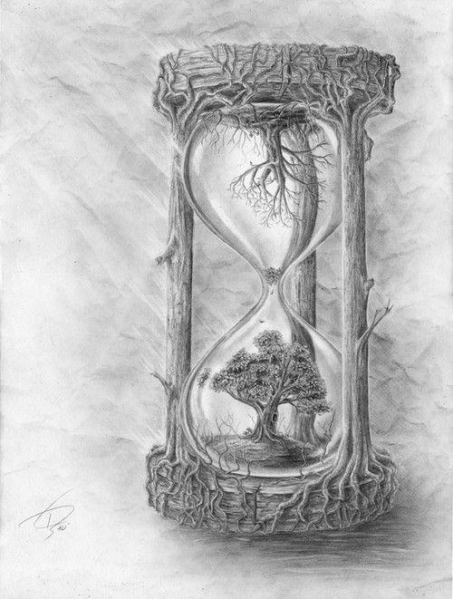 Drawn still life nature NearPics Hourglass ideas & Best