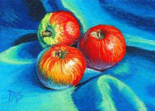 Drawn still life oil pastel Oil  fine art sketching